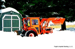 Snow Powing & Removal in Frederick County Maryland